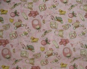 Tessuto americano ideale per patchwork, quilt e cucito creativo per bambini realizzato in cotone 100% in altezza di cm 110
