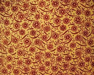 Tessuto americano ideale per patchwork, quilt e cucito creativo, realizzato in cotone 100% con motivi floreali in altezza di cm 110