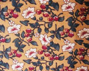 Tessuto americano ideale per patchwork, quilt e cucito creativo, realizzato in cotone 100% con motivi floreali in altezza di cm 110.