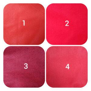 pannolenci rosso 90 x 50 cm.