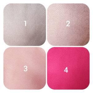 pannolenci rosa 90 x 50 cm.