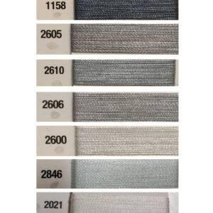Filato Makò 100% cotone Aurifil©, in spole da mt. 1300.