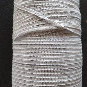 elastico piatto bianco