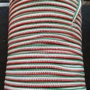 elastico piatto tricolore