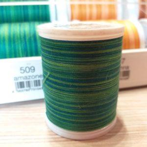 Filato da ricamo Madeira Cotona Multicolor in cotone egiziano nr. 30.