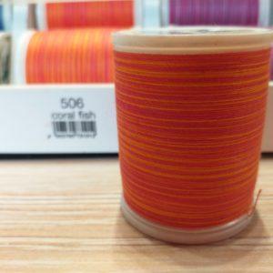 Filato da ricamo Madeira Cotone Multicolor in cotone mercerizzato egiziano nr. 30. mt.: 400.