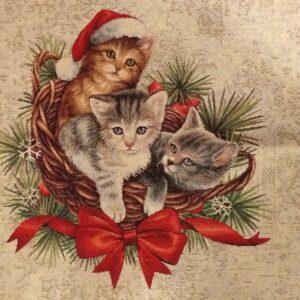 Gobelin piazzato natalizio lurex.