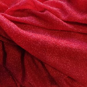 Maglina jersey lurex rosso