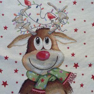 Gobelin piazzato natalizio.
