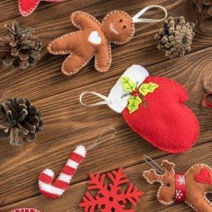 Feltro e pannolenci natalizio