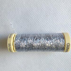 Spoletta filo metallico lamè Argento
