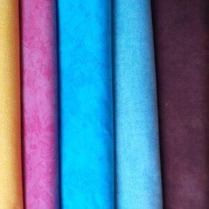 Tessuti Patchwork per colore