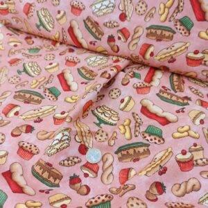 Tessuto americano ideale per patchwork, quilt e cucito creativo, realizzato in cotone 100%.
